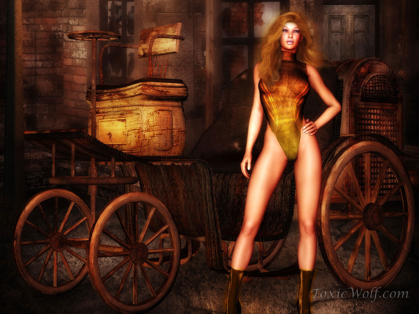 naked-steampunk-girl